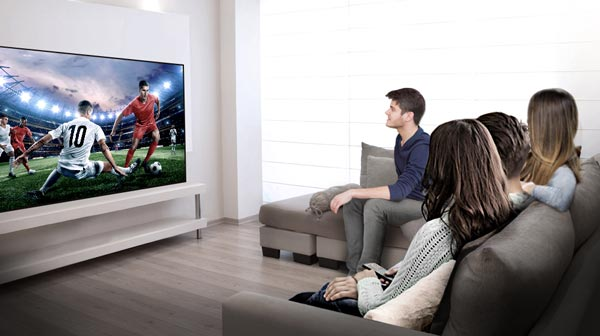 تلویزیون 55 اینچ منحنی ال جی مدل 55EG910